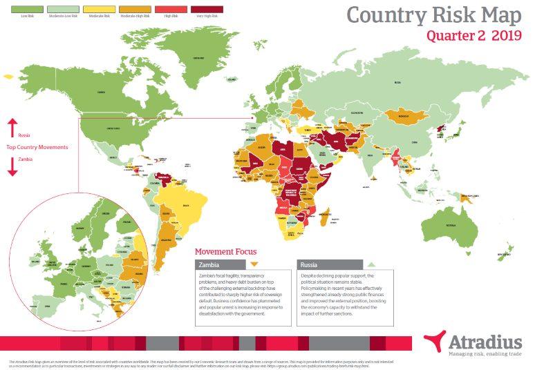 Atradius Risk Map 2019_Q2