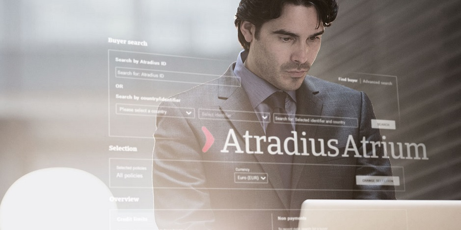 Atradius Atrium | Zákaznický online portál